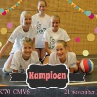 CMV6 kampioen