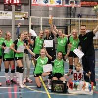 Meisjes B kampioen 2017-2